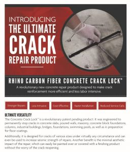 Concrete Crack Repair in Highland NY